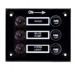 3 Gang Switch Panel RC - New Image
