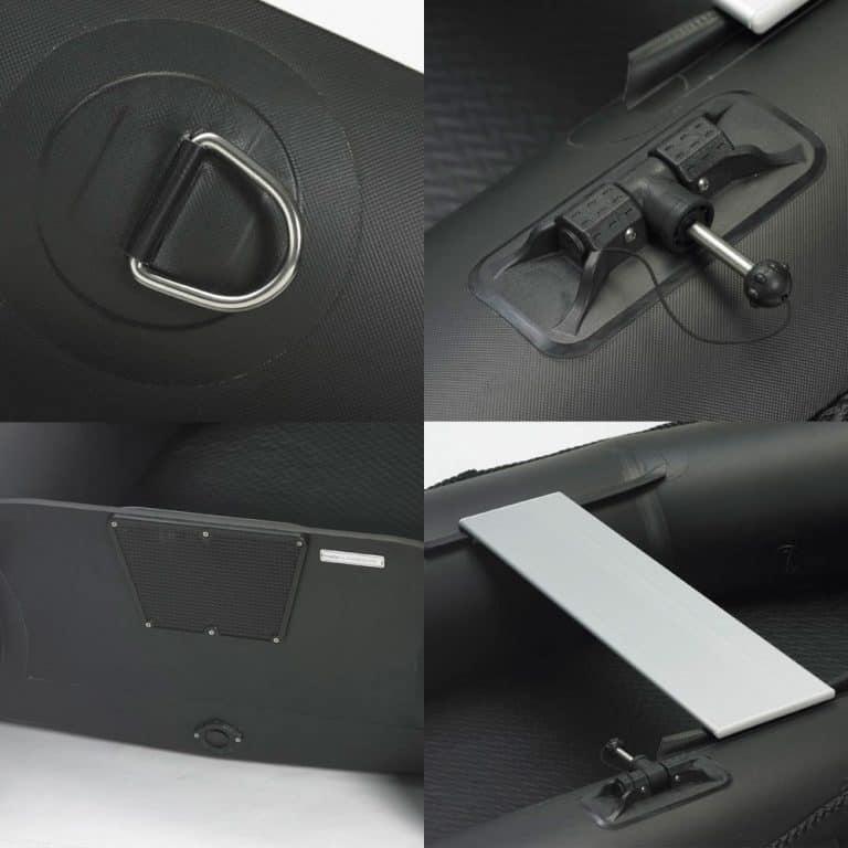 3D Superlight Tender Twin Air - Black