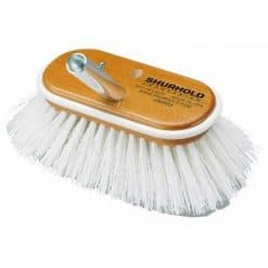 "6"" Stiff White Brush - Image"