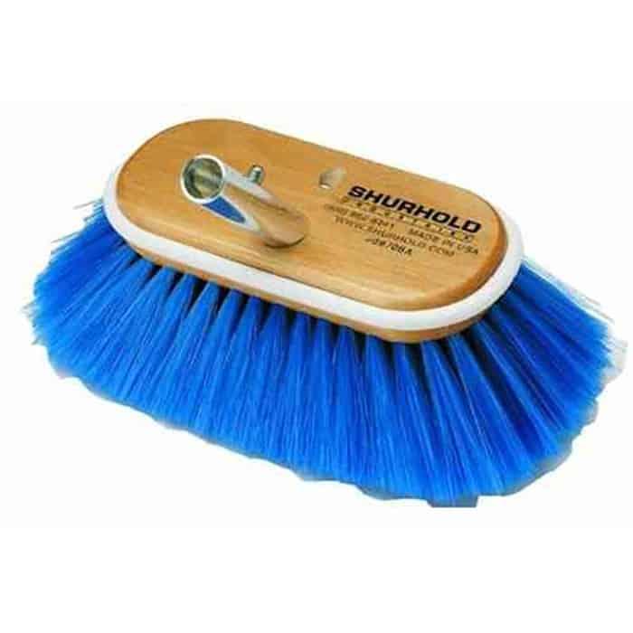 """8"""" Ex-Soft Angled Brush Blue - Image"""