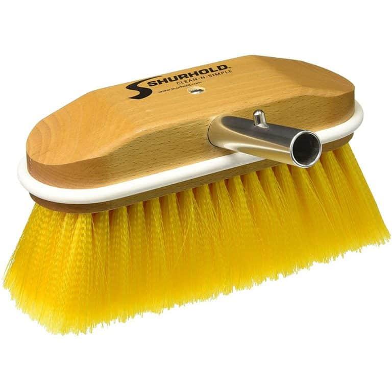"8"" Soft Angled Brush Yellow - Image"
