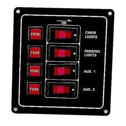 AAA 4 Gang Switch Panel - Image