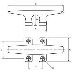 Allen YS Deck Cleats - Image