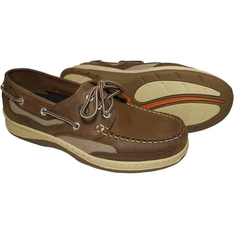 Apache Moose Banff Deck Shoe - Bark