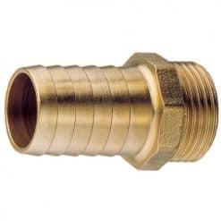 "Aquafax Brass Connector 3/8"" BSP 13mm Hose - Image"