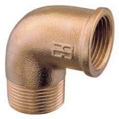 """Aquafax Bronze Mf Elbow 2"""" BSP - Image"""