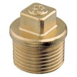 Aquafax Male Plugs Brass BSPT - Image