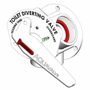 Aquavalve Diverter Y Valve White Including Spanner - Image