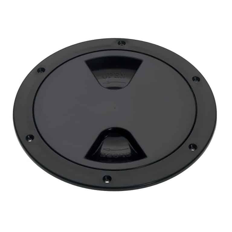 Barton Screw Inspection Cover - Black