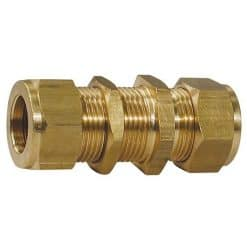 Brass Bulkhead Coupling Tube - Image