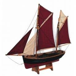 Brixham Trawler Breton Sails - Image