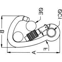 Carbine Asymmetrical Tested Hook - Image