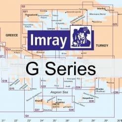 Chart Imray G Region Charts - Greece & Turkey - Image
