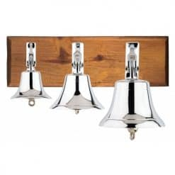 Chrome Plated Ships' Bells - Image