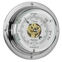 Clipper Barometer Chrome - Image