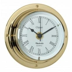 Clipper Tarnish-Free Clock with QuickFix System - Image
