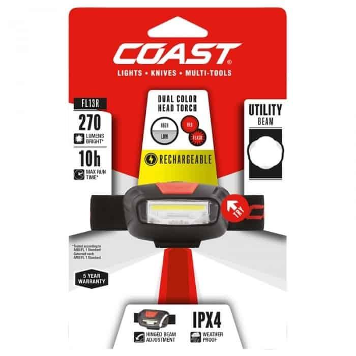 Coast FL13R Head Torch - Image