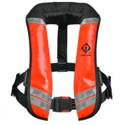 Crewsaver Crewfit 150N XD Commercial Lifejacket Workvest - Wipe Clean Orange
