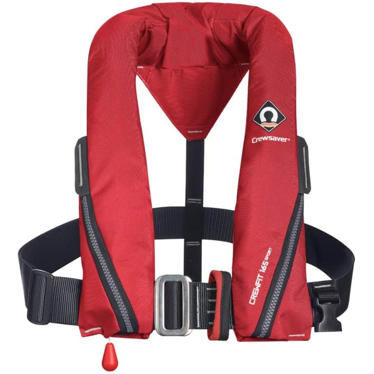 Crewsaver Crewfit 165N Sport Lifejacket 2021 - Red