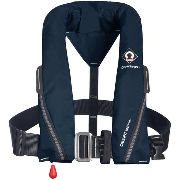 Crewsaver Crewfit 165N Sport Lifejacket 2021 - Navy Blue