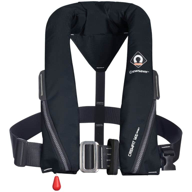 Crewsaver Crewfit 165N Sport Lifejacket 2021 - Black