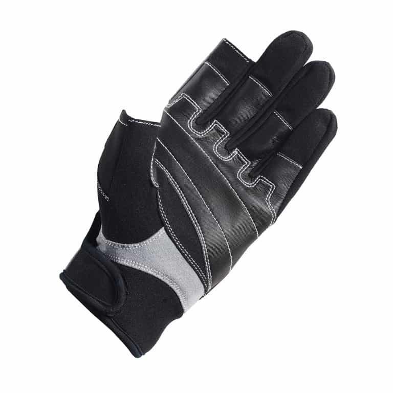 Crewsaver Long Three Finger Glove - Black