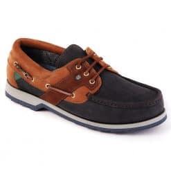 Dubarry Clipper Deck Shoe Gore-Tex - Navy Brown
