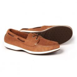 Dubarry Elba X LT Moccasin Deck Shoe for Women - Chestnut