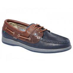 Dubarry Mariner Deck Shoe - Navy/Brown
