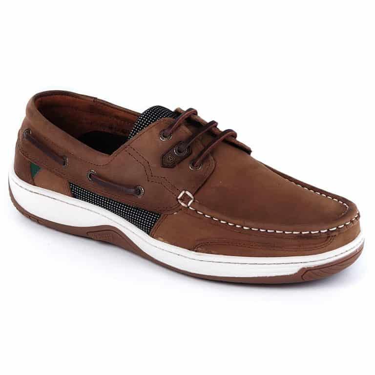Dubarry Regatta Deck Shoe - Extra Fit Donkey Brown