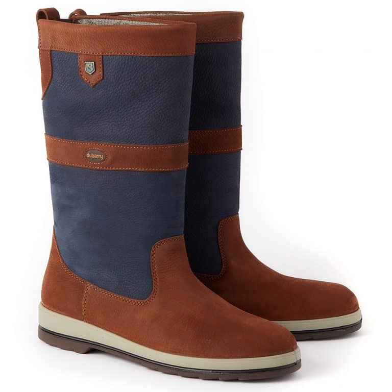 Dubarry Ultima GORE-TEX - Sailing Boots - Navy/Brown