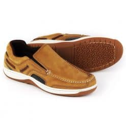Dubarry Yacht Deck Shoes Slip-On - Brown