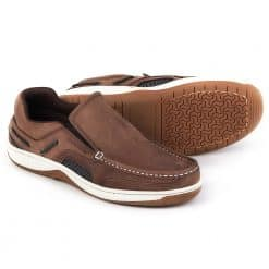 Dubarry Yacht Deck Shoes Slip-On - Donkey Brown
