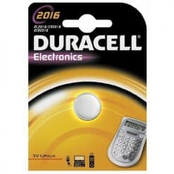 Duracell Lithium Coin Battery 2016 - Image