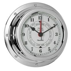 Fitzroy Chrome Tide Clock - Image