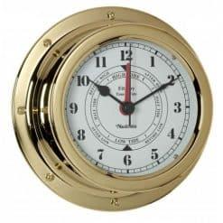 Fitzroy Brass Tide Clock - Image