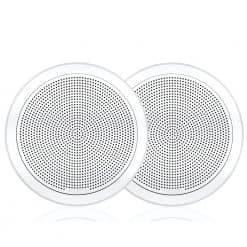 "Fusion Round Flush Speaker 7.7"" - White"
