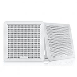 "Fusion Square Flush Speaker 6.5"" - White"