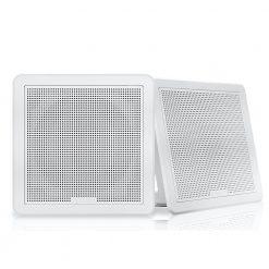 "Fusion Square Flush Speaker 7.7"" - White"