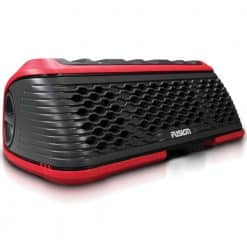 Fusion StereoActive Waterproof Bluetooth Stereo Speaker - Red