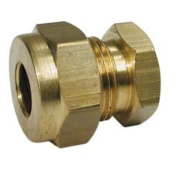 """Gas Coupling Stop End 1/4"""" OD Tube - GAS COUP STOP END 1/4"""" OD TUB"""