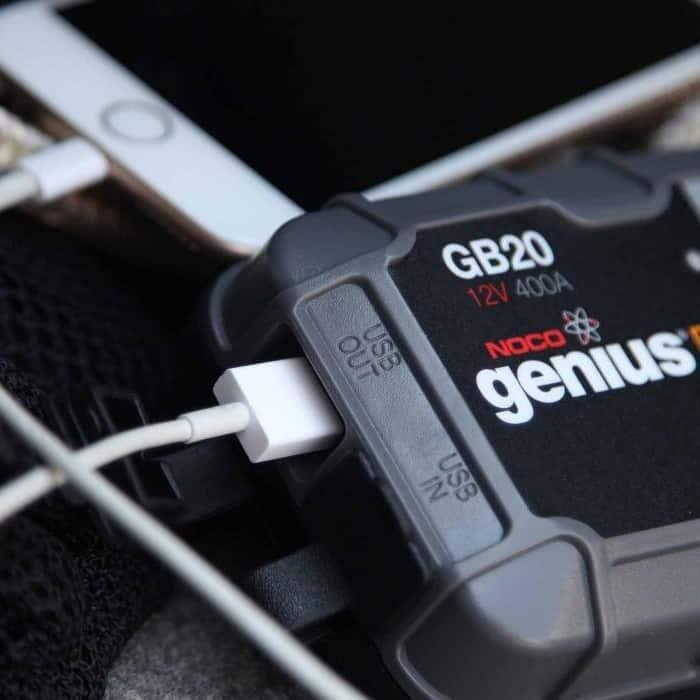 Genius Boost Sport Lithium Jump Starter GB20 - Image
