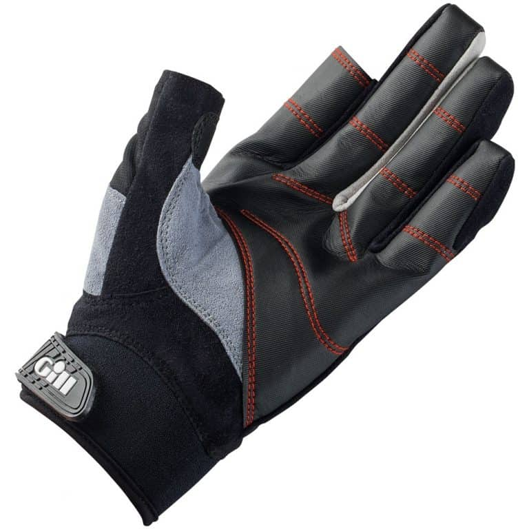 Gill Championship Long Finger Gloves - Black