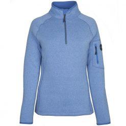 Gill Knit Fleece for Women - Light Blue