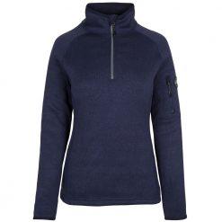Gill Knit Fleece for Women - Navy