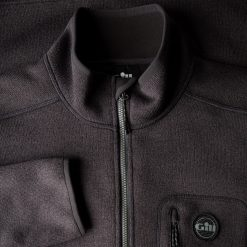 Gill Knit Fleece Jacket for Men - Graphite