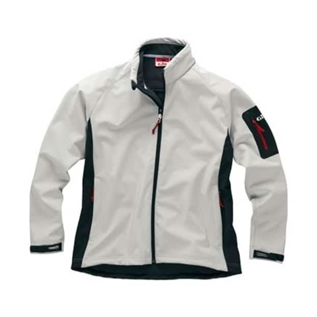 Gill Men's Team Softshell Jacket - Silver Grey