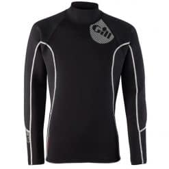 Gill Men's Thermoskin Top - Black/Red