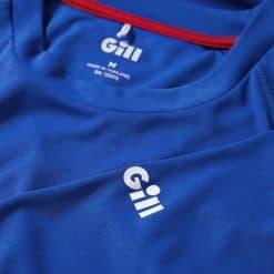 Gill Men's UV Tec Long Sleeve T-Shirt - Blue