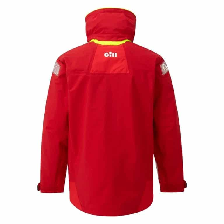 Gill OS2 Offshore Jacket 2021 - Red/Bright Red